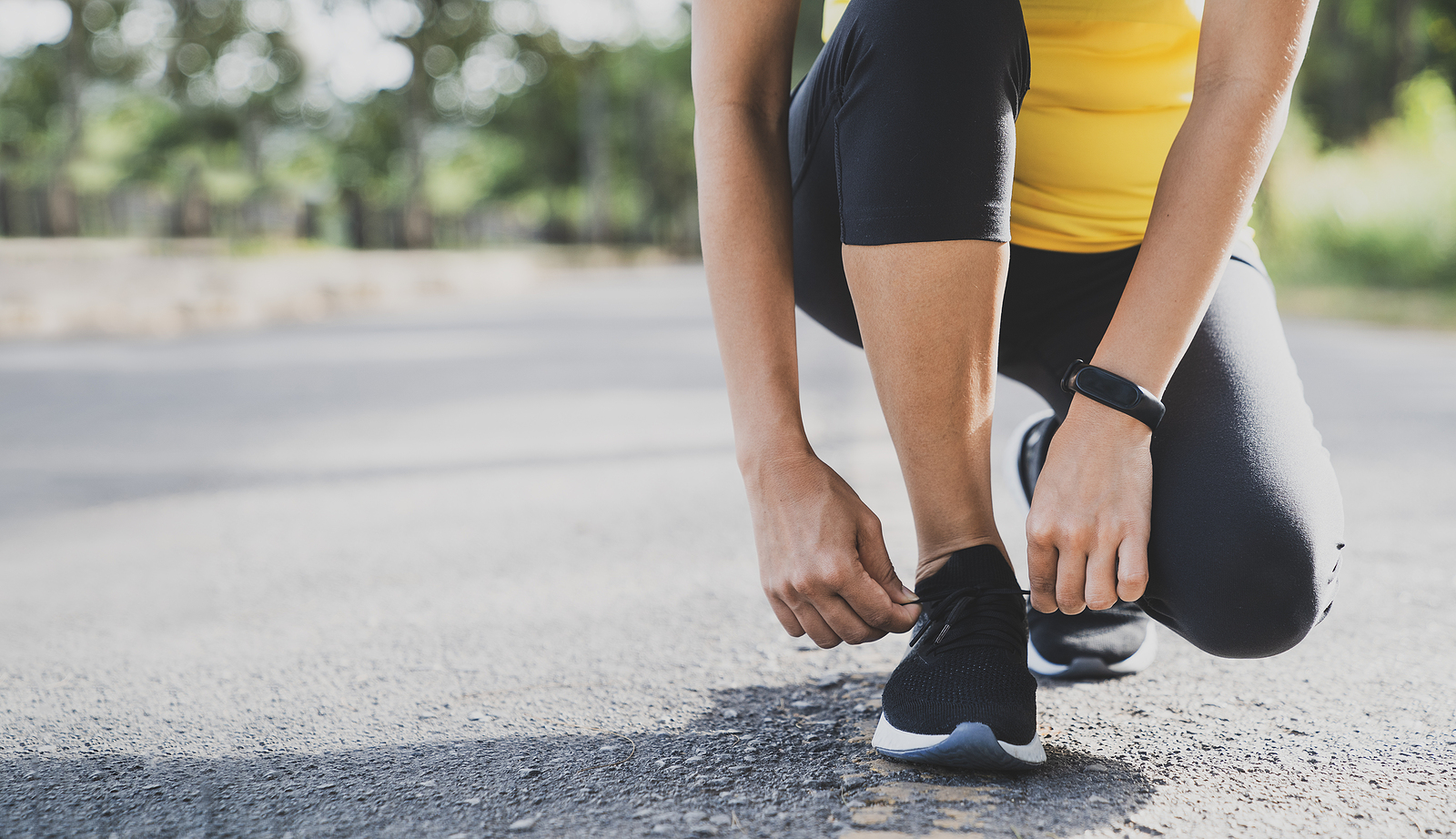Exercise and Running Shoes